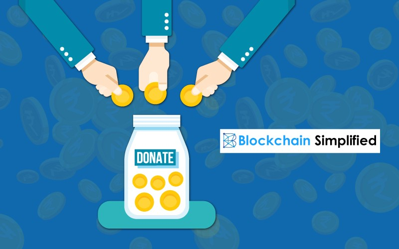 Blockchain NGO donate
