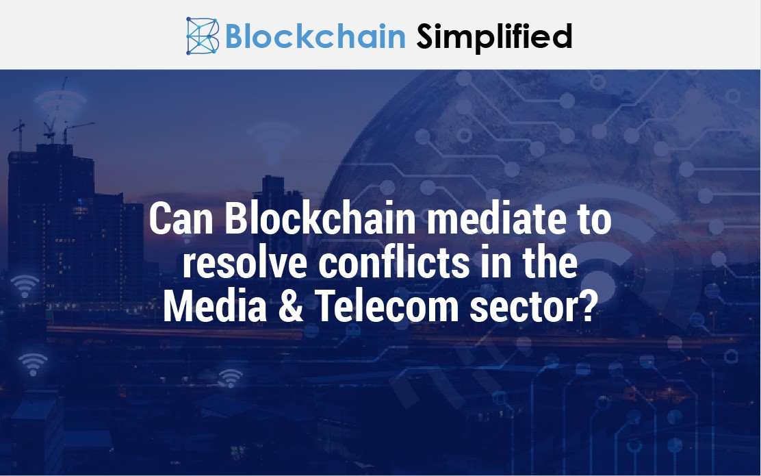 blockchain in telecom media main